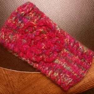 Tickled Pink Knit Head Band
